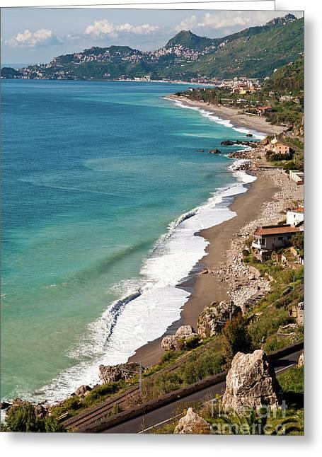 Sicilian Sea Sound Greeting Card