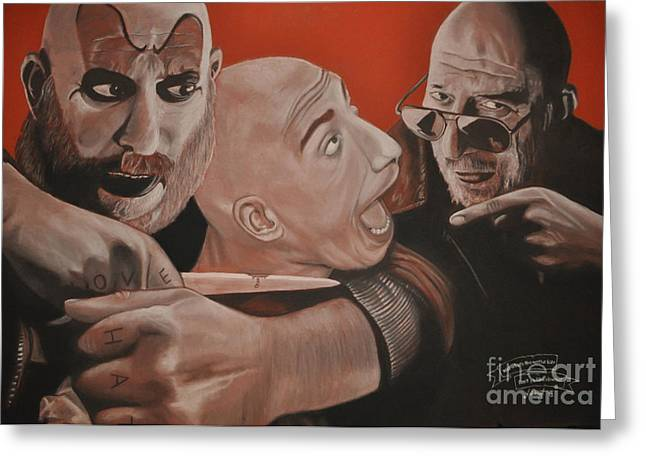 Sid Haig Greeting Card
