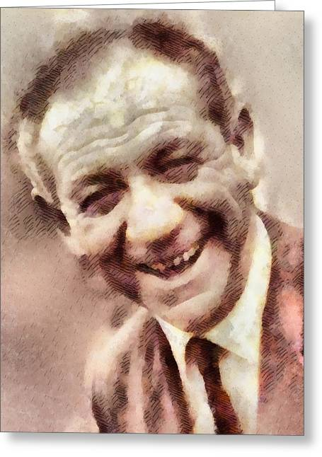 Sid James, Carry On Actor Greeting Card