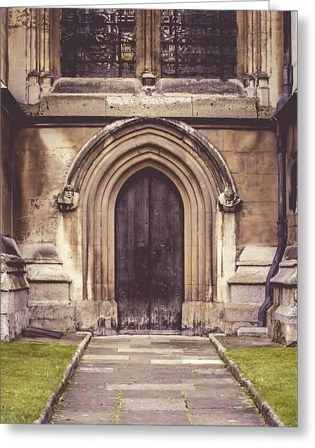 Side Door Greeting Card by Christi Kraft