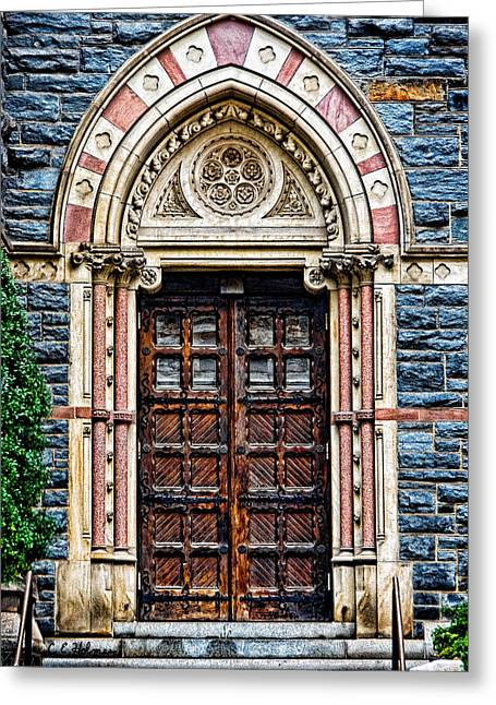Side Entrance Greeting Card by Christopher Holmes