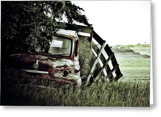 Side Stop Greeting Card by Jerry Cordeiro