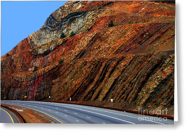 Sideling Hill Maryland Greeting Card by Thomas R Fletcher