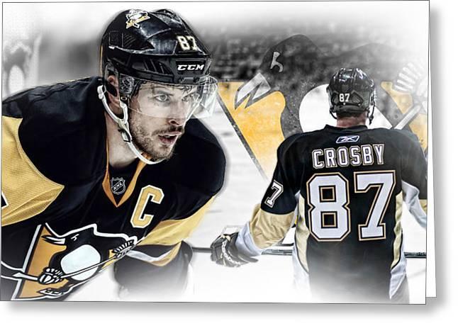 Sidney Crosby Artwork Greeting Card