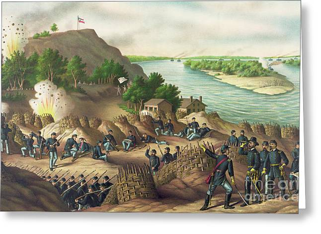 Siege Of Vicksburg Greeting Card by American School