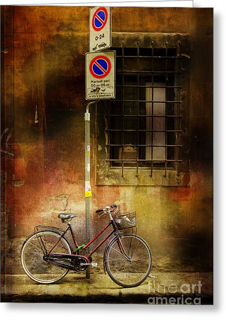 Siena Bicycle Greeting Card