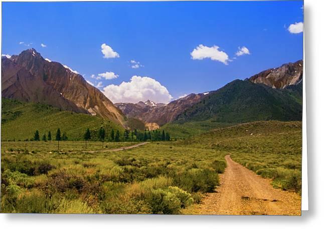 Sierra Mountains - Mammoth Lakes, California Greeting Card
