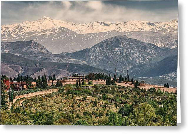 Sierra Nevada View Greeting Card
