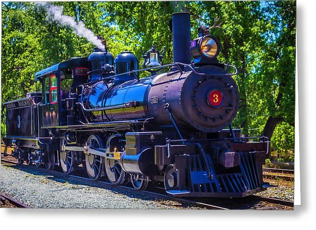 Sierra Railway Number 3 Greeting Card