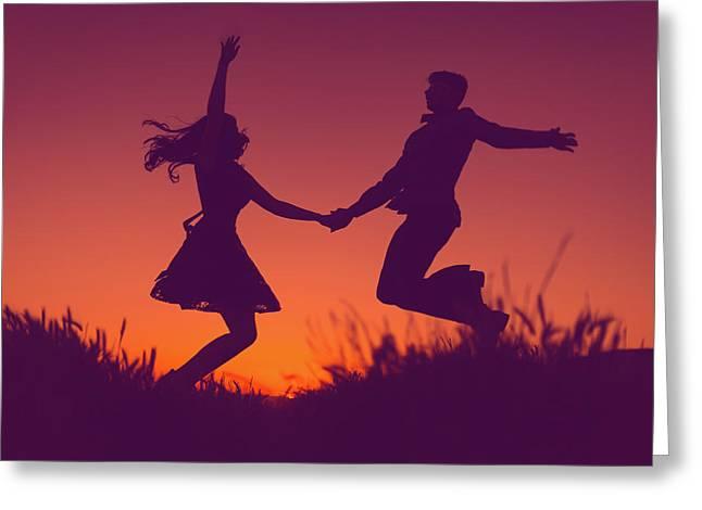 Sierra Sunset Greeting Card