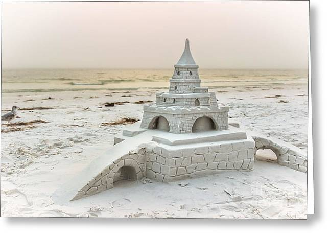 Siesta Key Sandcastle 2 Greeting Card by Liesl Walsh
