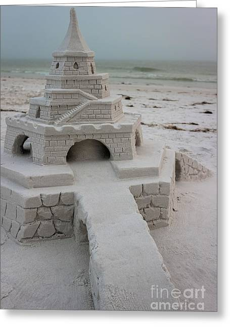 Siesta Key Sandcastle 3 Greeting Card by Liesl Walsh