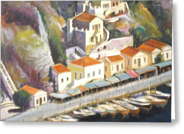 Sifnos  Greeting Card by George Siaba