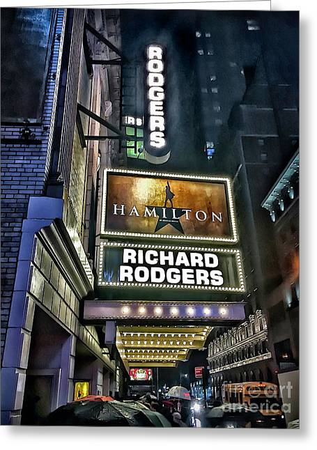 Sights In New York City - Hamilton Marquis Greeting Card