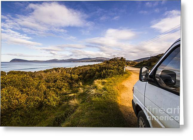 Sightseeing Southern Tasmania Greeting Card by Jorgo Photography - Wall Art Gallery