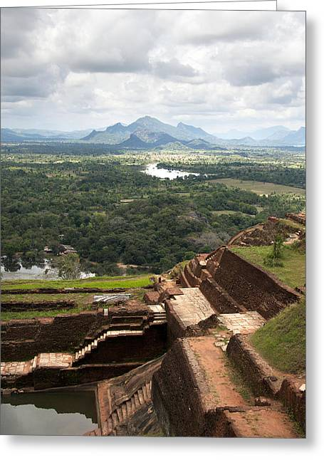 Best Sellers -  - Stepping Stones Greeting Cards - Sigiriya ruins Greeting Card by Jane Rix