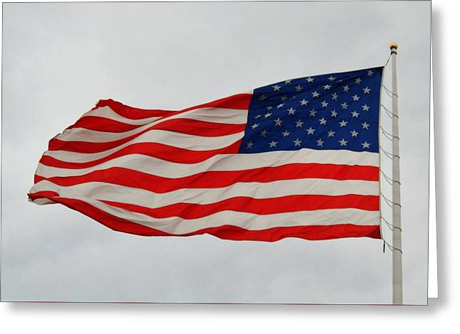 Sign Of Freedom Greeting Card