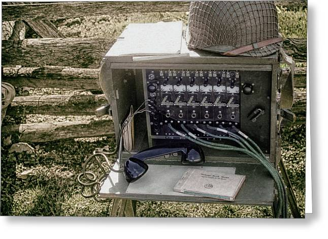 Signal Corps U.s. Army  Greeting Card by Steven Digman