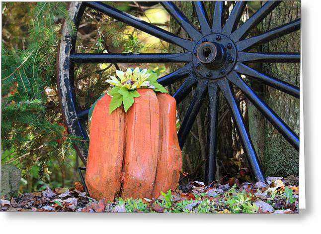 Signs Of Fall Greeting Card