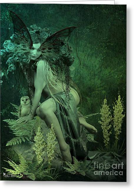Silence Of The Night Greeting Card