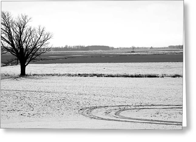Silence The Only Sound Greeting Card by Off The Beaten Path Photography - Andrew Alexander