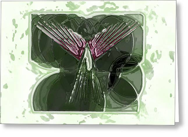 Silent Angel Greeting Card by Patrick Guidato