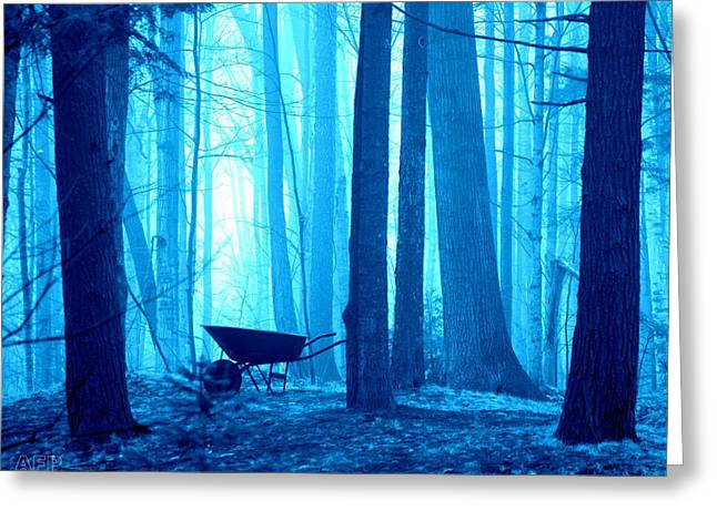 Greeting Card featuring the photograph Silent Forest by Al Fritz