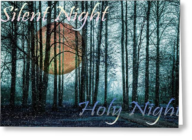 Silent Night Holy Night Greeting Card