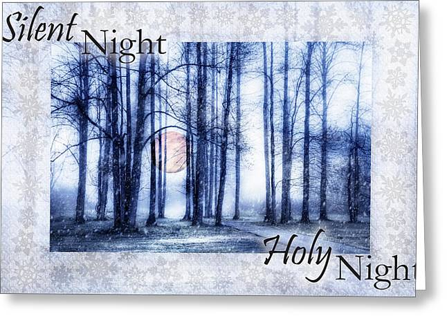 Silent Night Holy Night II Greeting Card