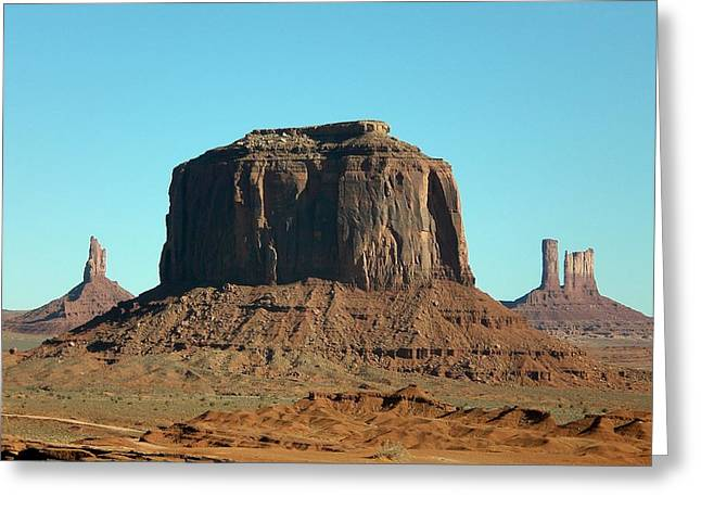 Greeting Card featuring the photograph Silent Sentinel by Fred Wilson