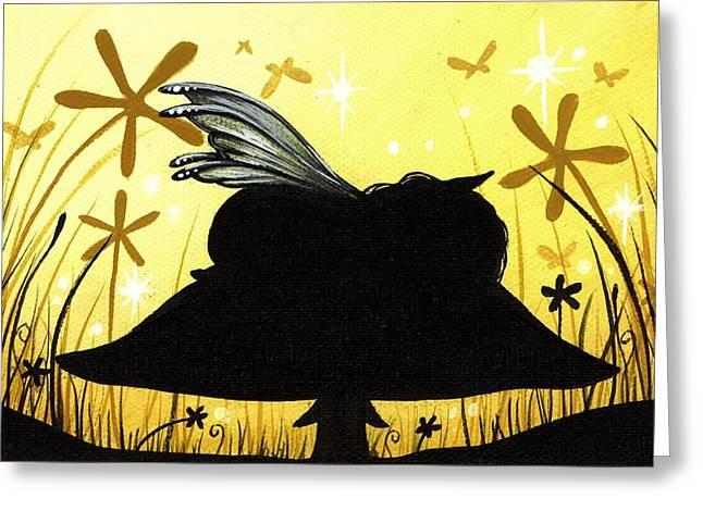 Silent Slumber Greeting Card by Elaina  Wagner