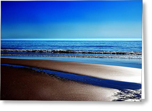 Hannes Cmarits Greeting Cards - Silent Sylt Greeting Card by Hannes Cmarits