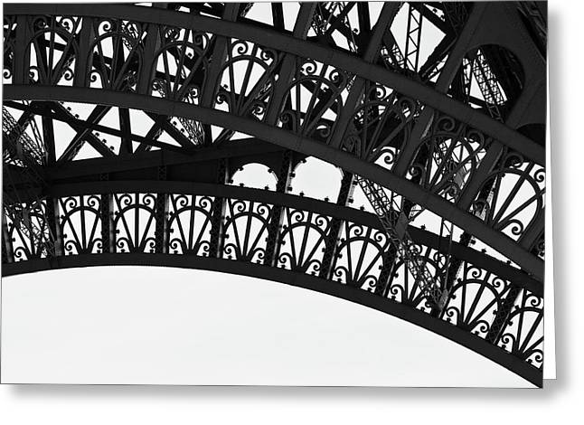 Silhouette - Paris, France Greeting Card