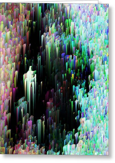 Silk Spectrum Greeting Card