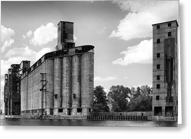 Silo City 3 Greeting Card