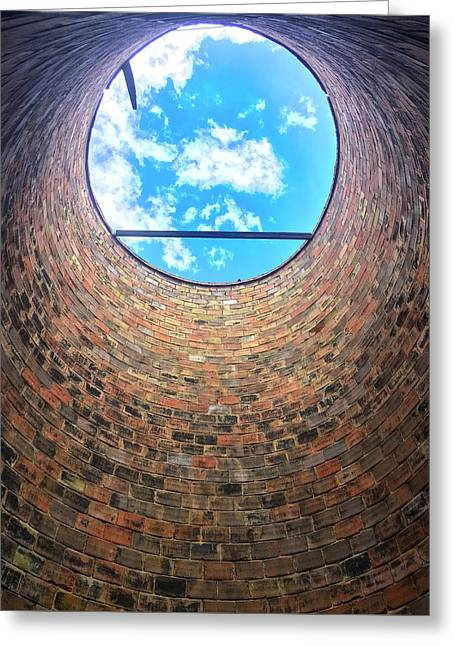 Silo Look Up Greeting Card