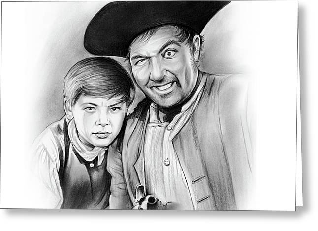 Silver And Hawkins Greeting Card by Greg Joens