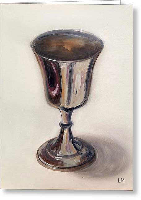 Silver Goblet Greeting Card