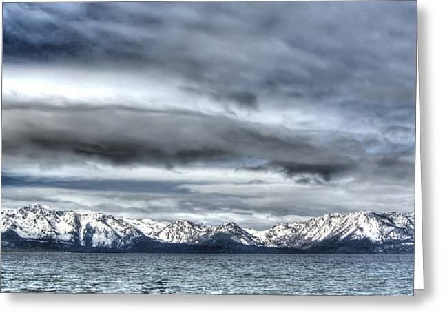 Silver Lake Tahoe Greeting Card
