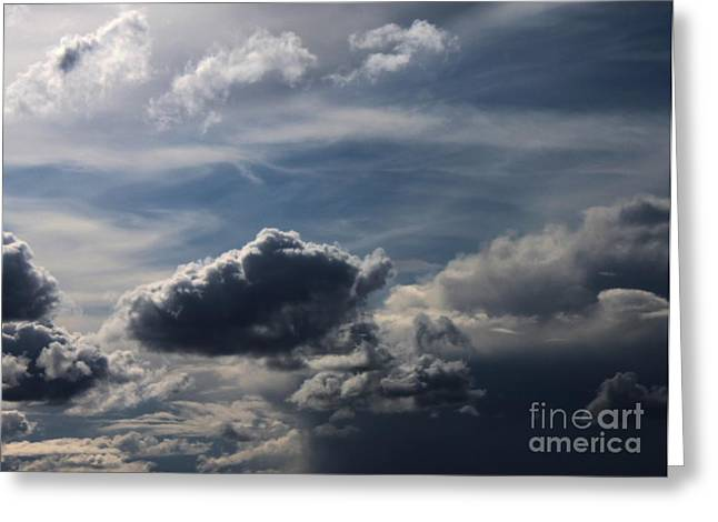 Silver Lining Greeting Card by Erica Hanel