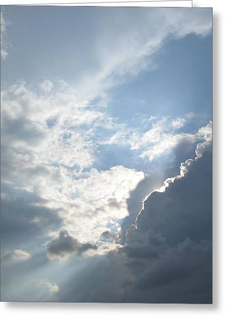 Silver Lining Greeting Card by Shelia Howe