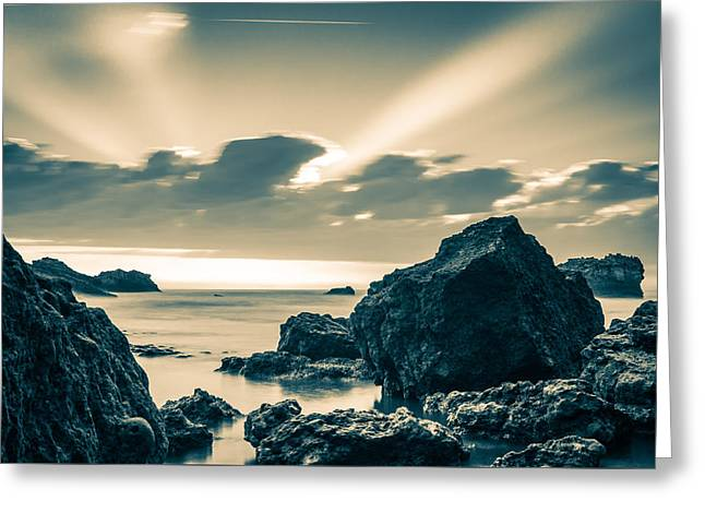 Silver Moment Greeting Card by Thierry Bouriat