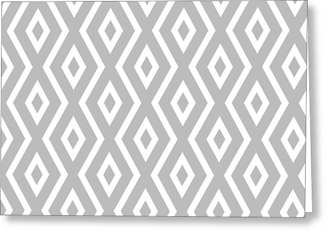 Silver Pattern Greeting Card