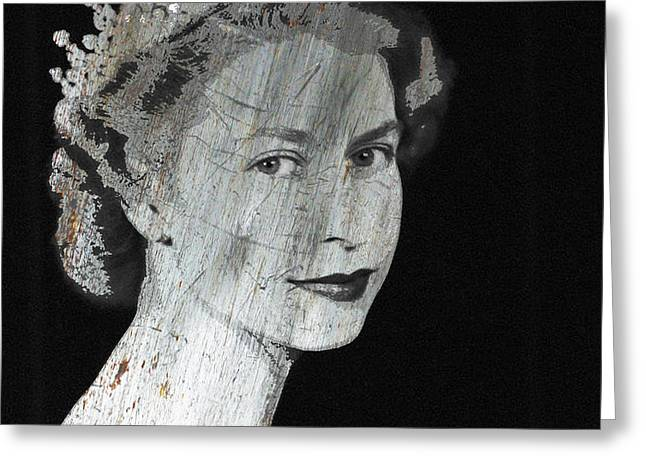 Silver Queen 2 Greeting Card by Tony Rubino