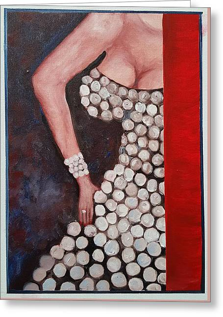 Silver Queen   39 Greeting Card