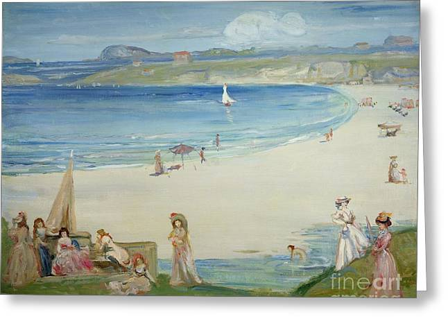Silver Sands Greeting Card by Charles Edward Conder