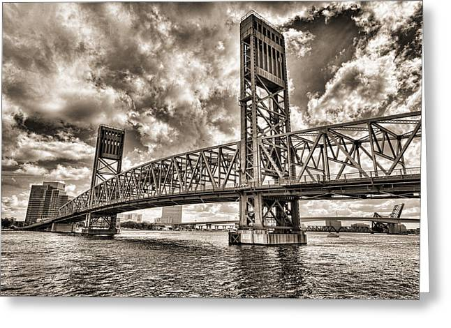 Jacksonville Greeting Cards - Silver Wing Greeting Card by Anthony Baatz