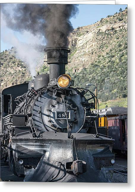 Greeting Card featuring the photograph Silverton Bound by Colleen Coccia
