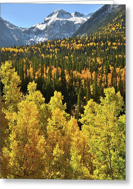 Greeting Card featuring the photograph Silverton Mountainscape by Ray Mathis