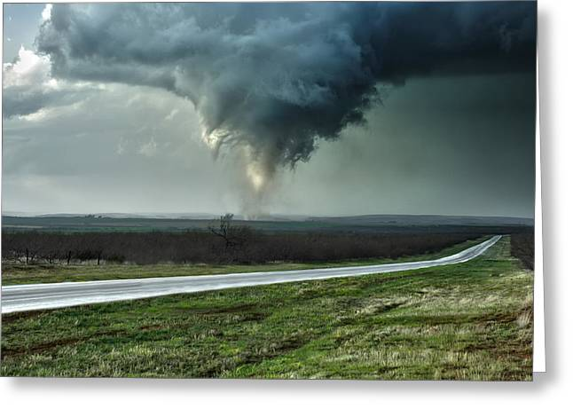 Silverton Texas Tornado 2 Greeting Card